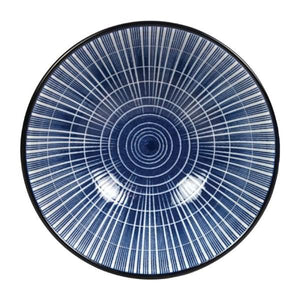 6PCE Gusta Out Of The Blue Sun Round Bowl Blue 120mm