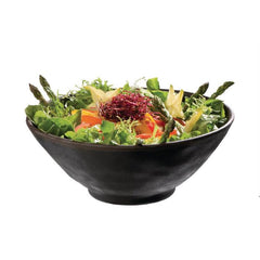 APS Marone Melamine Bowl Black 190mm