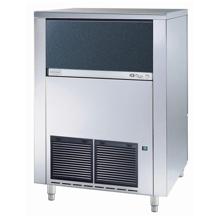 Brema CB1265A Ice Cube Maker 130kg Production with 65kg Storage