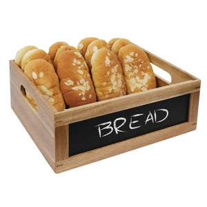 Olympia Bread Crate with Chalkboard 1/2 GN