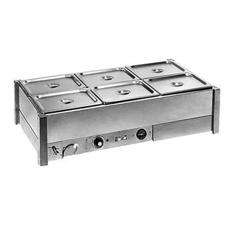 Roband Hot Bain Marie 8 x 1/2 Size Double Row BM24