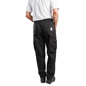 Le Chef Combat Pants Black L - ICE Group