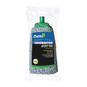 Oates Contractor Mop Head Green