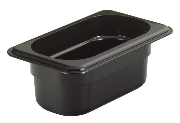 CAMBRO GN 1/9 Food Pan 65Mm Deep - Black 92CW110