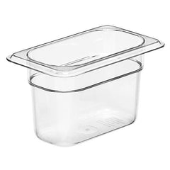 CAMBRO GN 1/9 100MM POLYCARB .85L - CLEAR 94CW135 - icegroup hospitality superstore