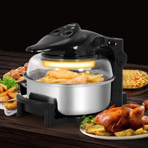 5 Star Chef 12L Black Air Fryer