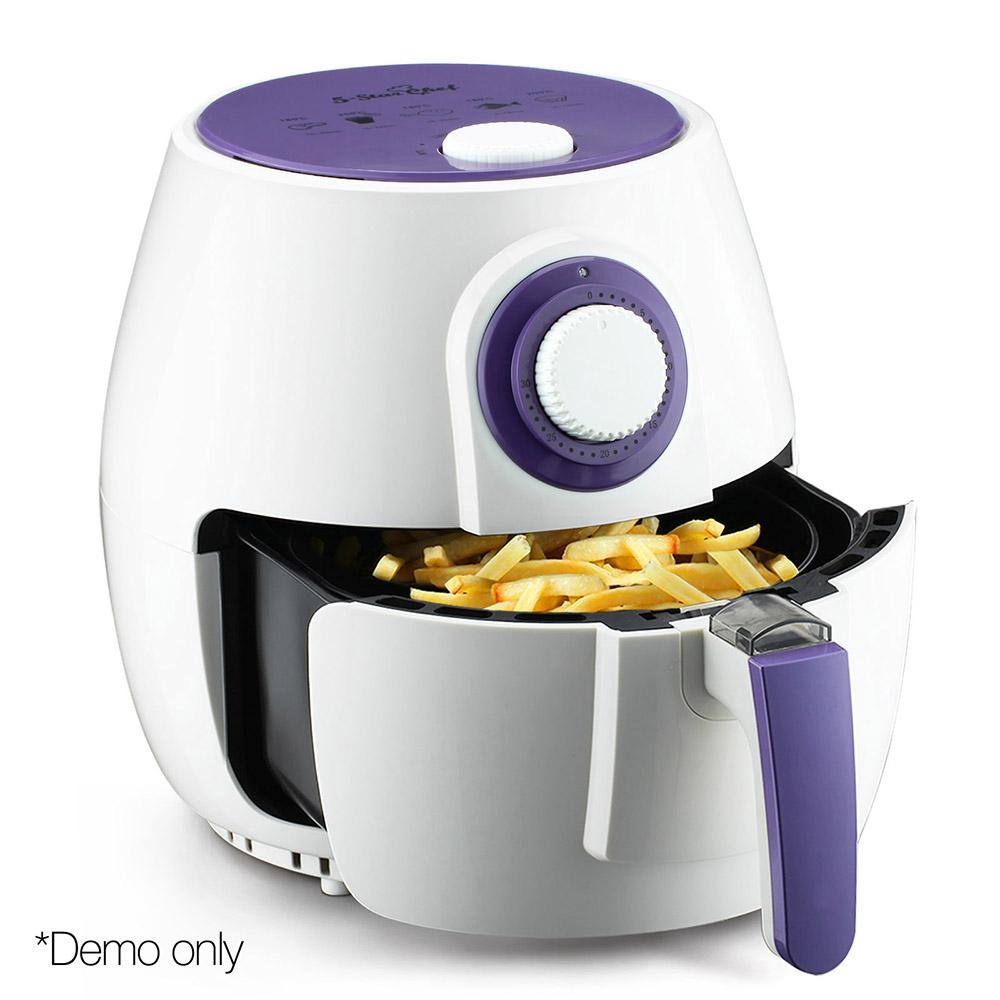 4L 1300W Air Fryer White