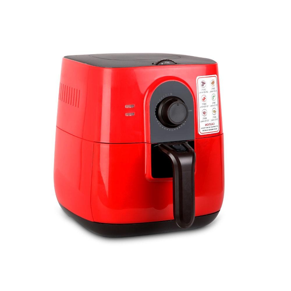 Oil-Less Air Fryer 3L Red