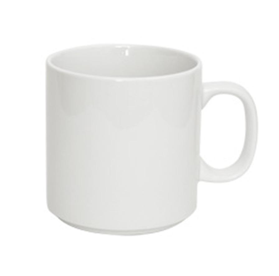48PCE Bistro Stackable Mug Med 310ml B7810002A