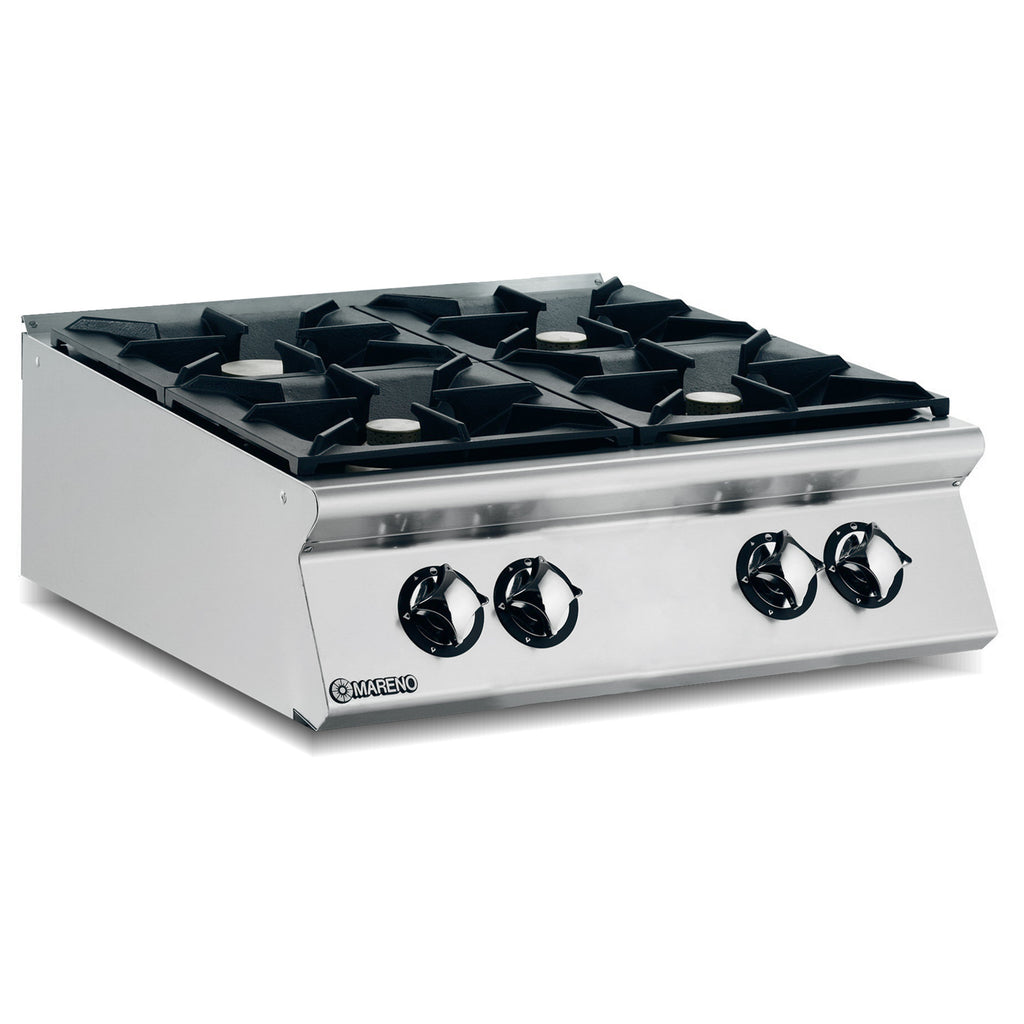 Mareno 4 Burner Hob Natural Gas ANC98G40-NG