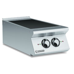 Mareno Commercial 2-Zone Induction Solid Top ANI94TE - icegroup hospitality superstore