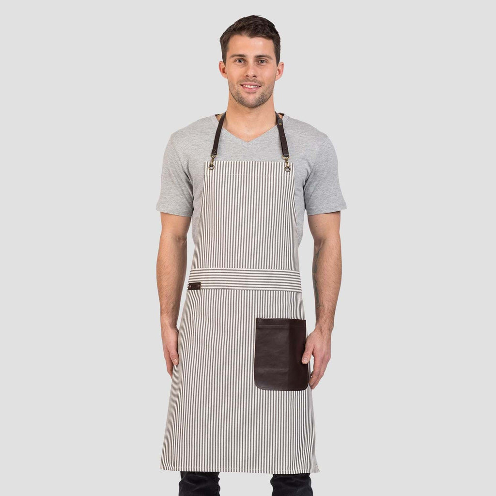 Aussie Chef Platinum Series Bib Apron Chloe AC-CHLOE01 - ICE Group