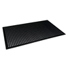 Rubber Anti-Fatigue Mat Black 1.5m - ICE Group