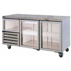 Anvil Aire 610Ltr Fridge 2.5 Glass Doors - 1.8m - icegroup hospitality superstore