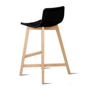 2PCE Artiss Set of 2 Reva Bar Stools 64cm - ICE Group