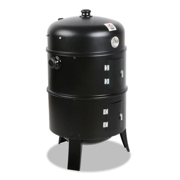 Grillz 3-in-1 Charcoal BBQ Smoker