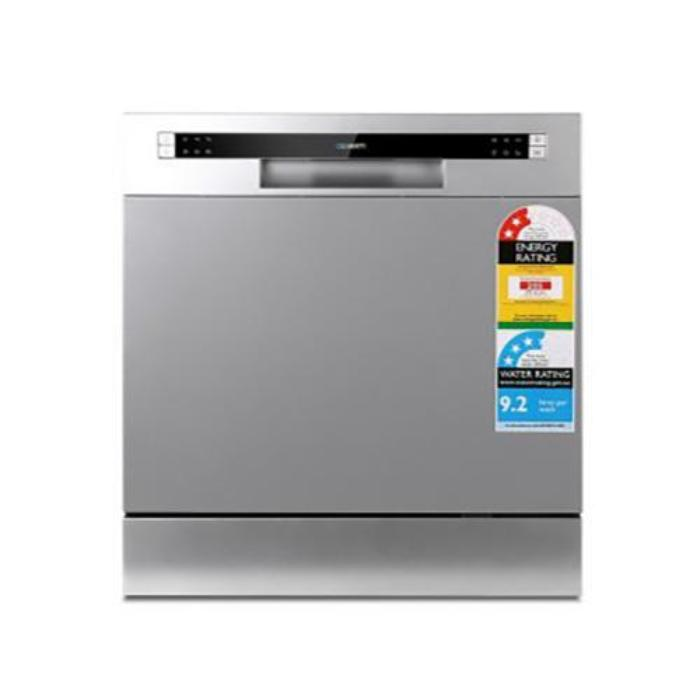 Devanti LED Benchtop Dishwasher 8 Place Setting