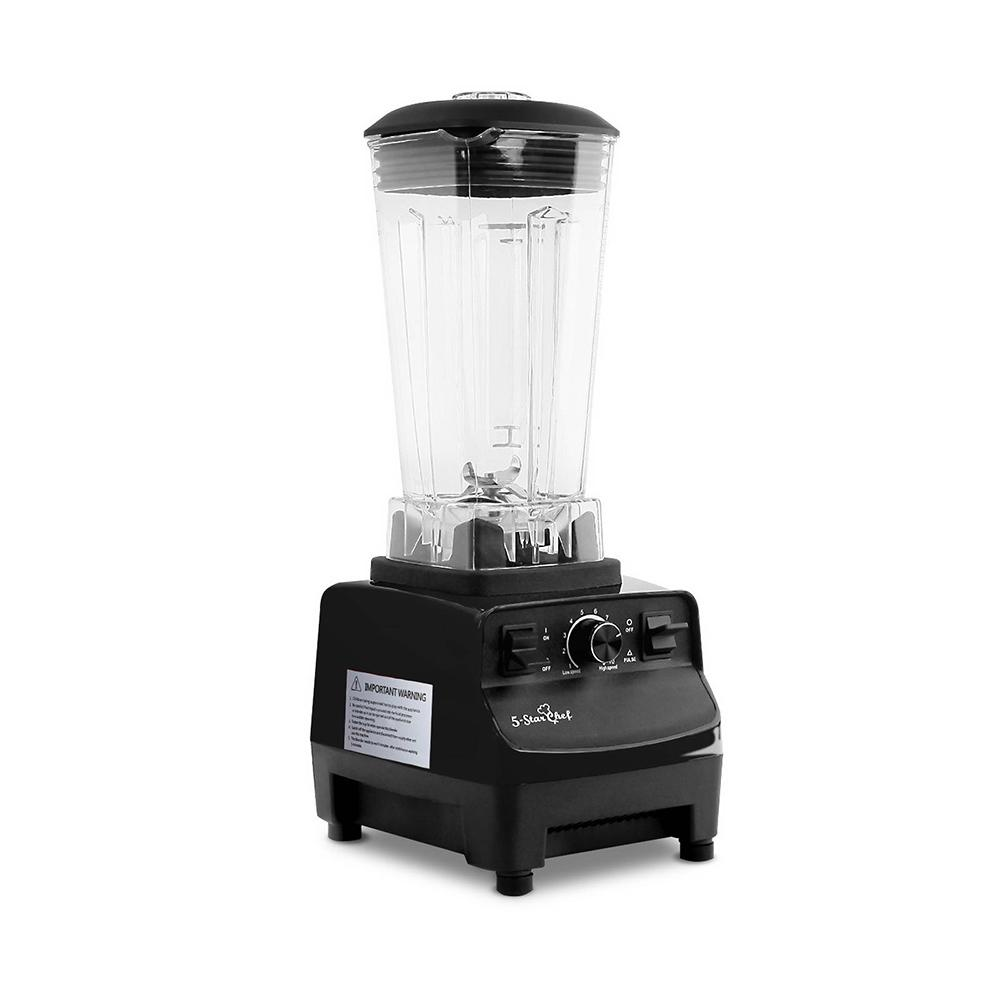 2-in-1 Food Processor & Blender 2L - Black