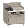 LUUS Essentials 2 Burner 600mm Griddle Oven CRO-2B6P