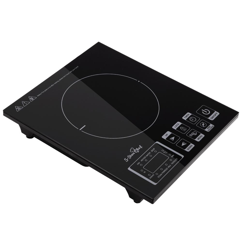 5 Star Chef Ceramic Induction Cooktop w/ Digital Display Hotplate
