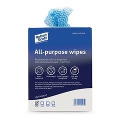 Jantex 200PCE Antibacterial All Purpose Cloths