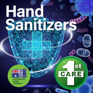 6PCE 1st Care 500ml Hand Sanitizers Australian Made