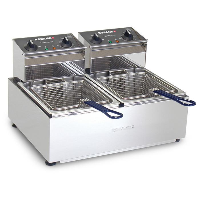 Roband Double Pan Fryer 2 x 5 Litre F25