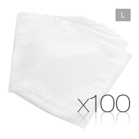 100 PCE Food Sealer Bag (28 x 40cm)