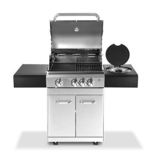 Grillz Stainless Steel 4 Burner Gas BBQ - ICE Group