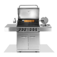 Grillz Stainless Steel 6 Burner Gas BBQ