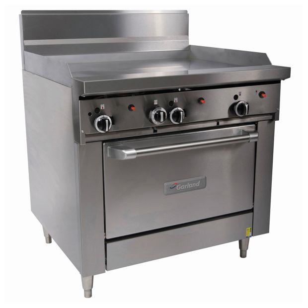 Garland Heavy Duty 900mm Griddle W Oven Natural Gas GF36-G36R-NG