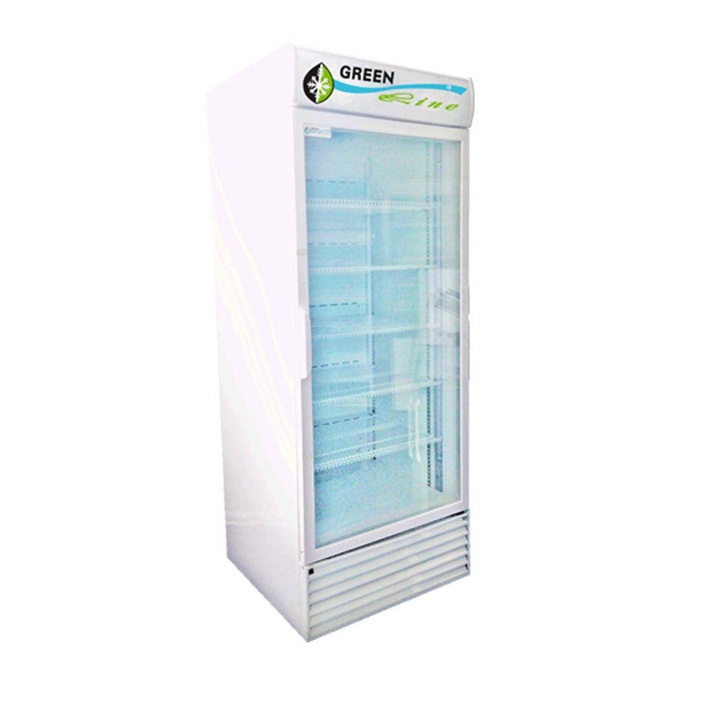 660L Greenline Single Glass Door Fridge GL1DC660-3