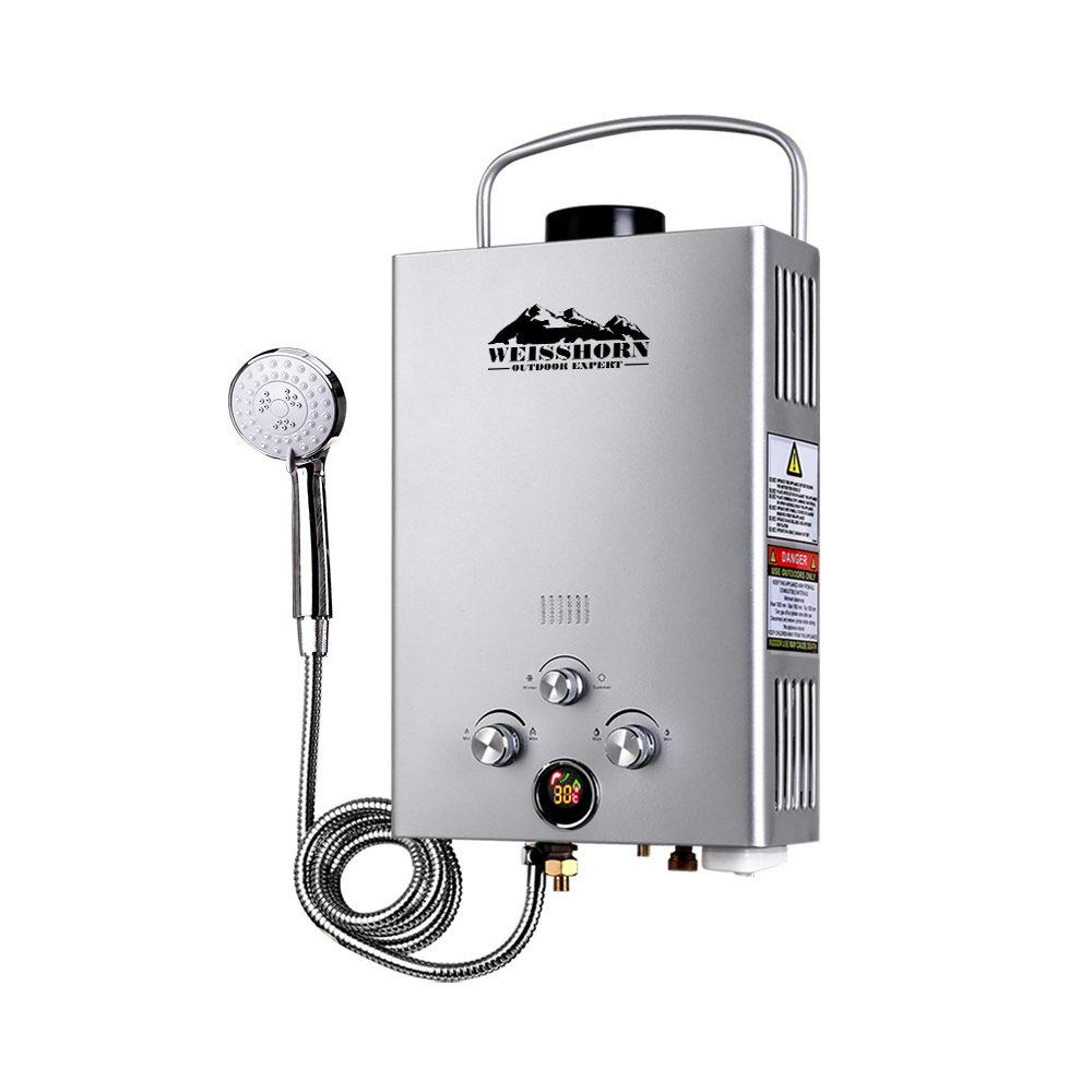 Outdoor Gas Water Heater - Sliver