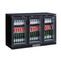Polar G-Series Back Bar Cooler with Hinged Doors 330Ltr