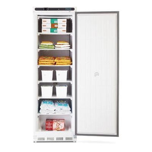 Polar Single Door Upright Freezer 365L White - icegroup hospitality superstore