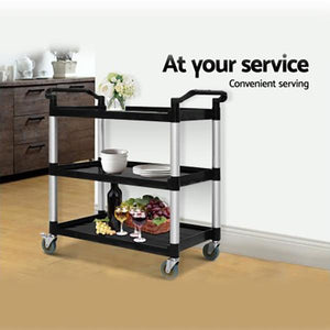 Large Catering Service Polypropylene Mobile Trolley