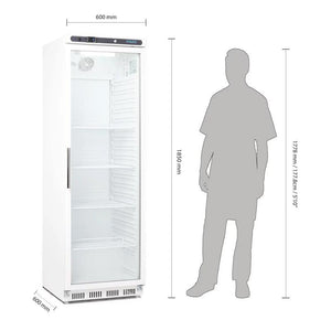 Polar 400L Glass Door Refrigerator