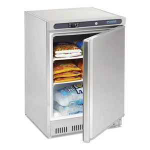 Polar Undercounter Freezer 140L Stainless Steel - icegroup hospitality superstore