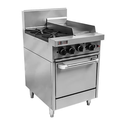 Trueheat RC Series Oven 2 Burner with 300mm griddle RCR6-2-3G-NG