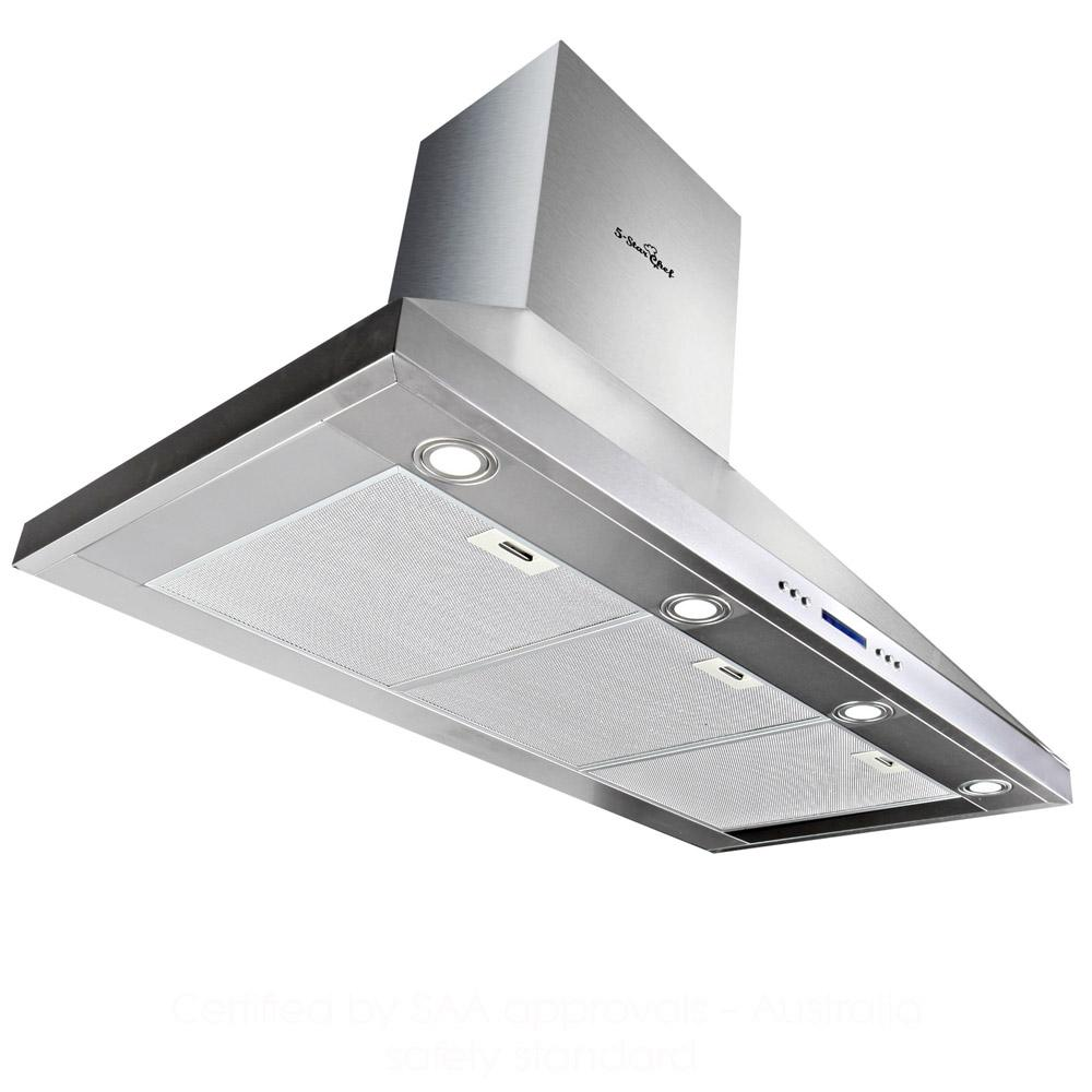 5 Star Chef 3 Fan Speed Rangehood 1200mm