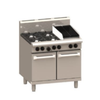 LUUS Professional 4 Burner Chargrill Oven 900mm RS-4B3C