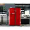Devanti 70L Retro Red Bar Fridge