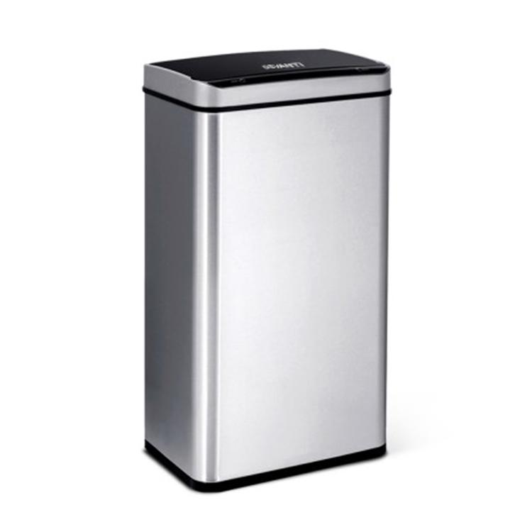 60L Silver Motion Sensor Bin - ICE Group HospitalityWarehouse