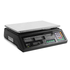 Electronic Computing Platform Digital Scale 40kg Black