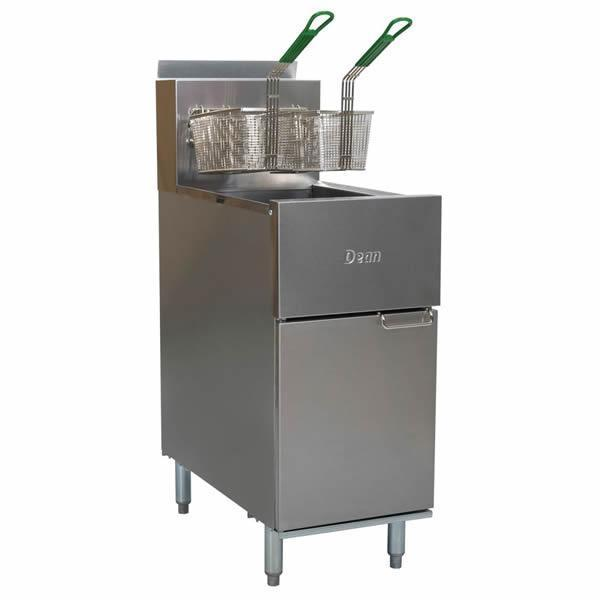 Dean Super Runner Gas Tube Deep Fryer 20L SR42G-NG