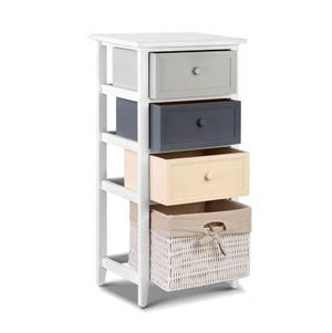 Artiss Bedroom Storage Cabinet White
