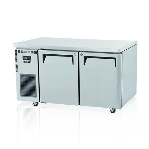 Skipio 2 Door Under Counter S 600 Side Prep Refrigerator SUR15-2