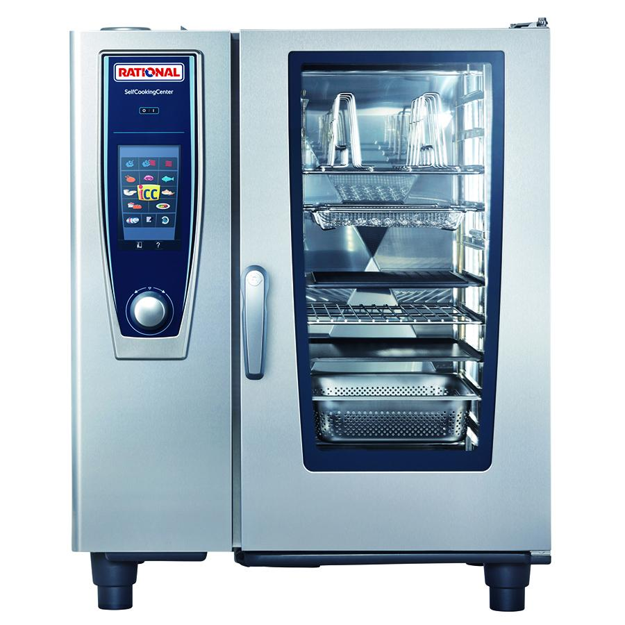 Rational Self Cooking Center 5 Senses 10 Tray Electric Combi Oven - ICE Group