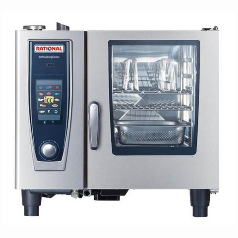 Rational Self Cooking Center 5 Senses Oven 6 Tray Electric Combi Oven SCC5S61