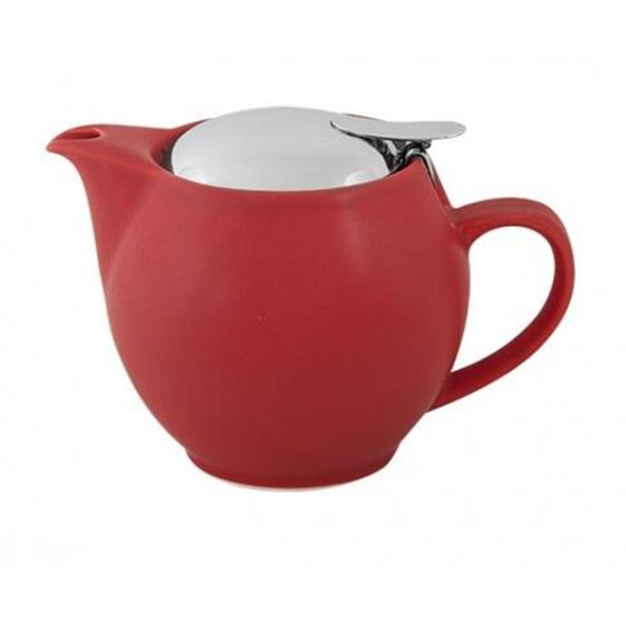 Bevande 350ml Tealeaves Teapot - Rosso 978602 - ICE Group